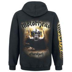 #Aftershock Sudadera con capucha por #Motörhead #Band #Merchandise #EmpSpain
