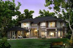 """ออกแบบบ้าน Modern Tropical Style ให้เข้ากับสภาพอากาศในเมืองไทย จาก""""มีนบุรีรับสร้างบ้าน"""""""
