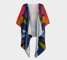 "Draped+Kimono+""Tye+Dye""+by+Kimberly+Rae+Hansen+Digital+Artistry+~+Fractalicious®"