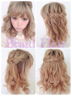Japanese   Gyaru   Braid hair