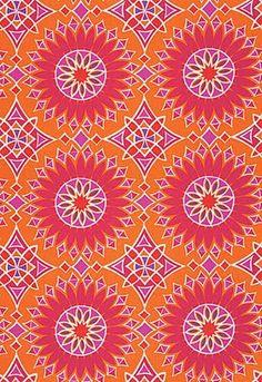 Pink and orange Trina Turk fabric.   LFF Designs   www.facebook.com/LFFdesigns
