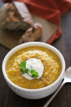 Crock Pot Butternut Squash and Parsnip Soup