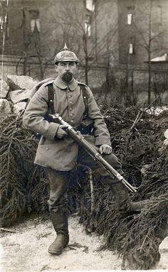 WWI. Infanterist Simon Sojer, 2. Kompagnie, Ersatz-Bataillon, bayer. Reserve-Infanterie-Regiment No. 1 (München), January 1915
