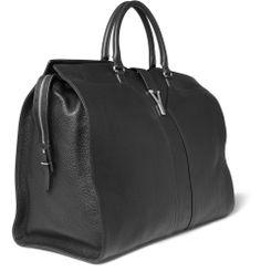Yves Saint Laurent Full-Grain Leather Holdall Bag