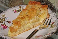 Apfelkuchen mit Streuseln, ohne Ei 1