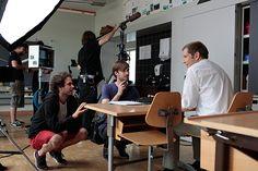 Eric Andreae und Adrian Aeschbacher Tv, Teachers, School, Television Set, Television