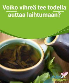 Voiko vihreä tee todella auttaa laihtumaan?  Jos haluat käyttää vihreää teetä laihtumiseen, tulee sinun juoda kolme kuppia päivässä ja pysyttäytyä muutenkin terveellisessä ravinnossa.