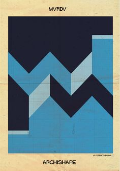 """Image 7 of 25 from gallery of ARCHISHAPE: """"Architecture Shapes in Minimalist Clothing"""". Photograph by Federico Babina Graphic Design Illustration, Graphic Art, Design Elements, Design Art, Shape Posters, Sketch Inspiration, Design Graphique, Geometric Art, Shapes"""