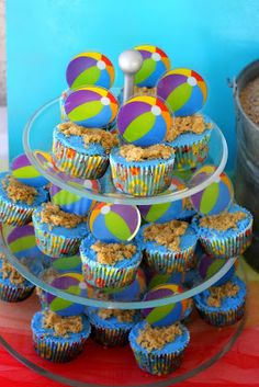 Beach Ball Birthday Bash - 2nd Birthday Party