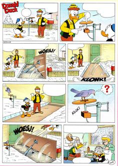 stripverhaal met lege tekstballonnen - leuke extra opdracht taalles