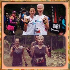 Top chicks doing Tough Mudder in their Black Leopard G-Loves!  #toughmudder #gloves