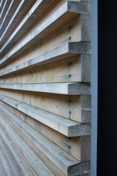 Wood Accent Wall by ana