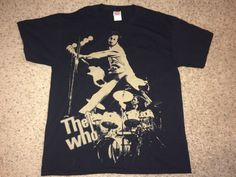 Sale Vintage THE WHO Casual T shirt retro band tee by casualisme