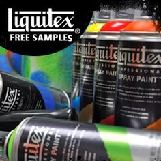 Free Samples from Liquitex Artist Materials