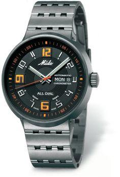 cddf293d199 TimeZone   Basel SIHH 2005 » N E W M o d e l s – Mido All Dial Titanium  Chronometer