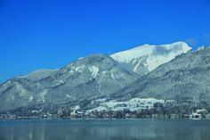 THEMA: Blick auf den Schafberg ORT: Strobl REGION: Salzkammergut BUNDESLAND: Salzburg LAND: Österreich ©WTG