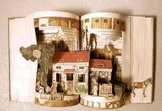Altered Book - Fairytale- Land of Memories