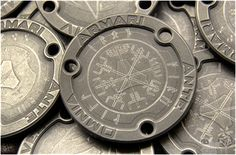 Urban Edc, Viking House, Military Pins, Coin Design, Asatru, Edc Everyday Carry, Challenge Coins, Edc Gear, Coin Jewelry