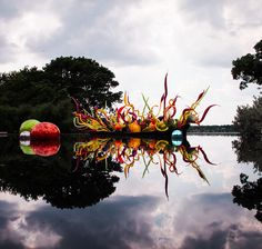 Photograph Dallas Arboretum Chihuly Exhibit by Chris Ronan on 500px