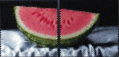 Christian Faur - Seedles Watermelon (made of hand cast crayons)
