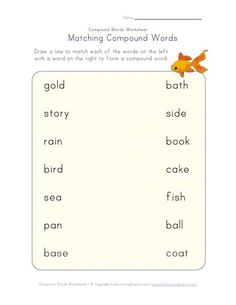 compound words matching 2