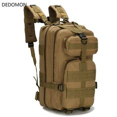 d60366a11b1e Military Tactical Assault Pack Backpack Army Molle Waterproof Bug Out Bag  Small Rucksack For. melhores ofertas do dia · Sport Bags