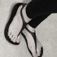 Love my new sexi flip croc sandals!