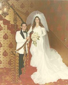 Vintage Brides — 1970 newlyweds