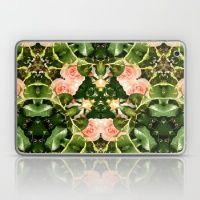 Pattern of pink roses 01 / Sleeping Beauty Laptop & iPad Skin