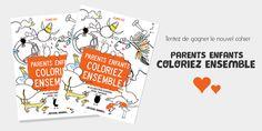 Concours : Parents Enfants Coloriez Ensemble ! -