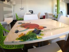 funky table designs