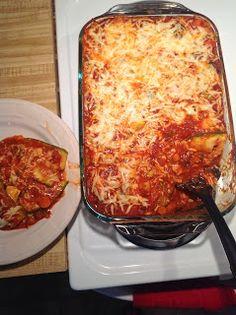 Meatless Monday! gluten free, vegetarian lasagna.  www.heatherbenham.blogspot.com