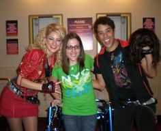 me with drew and sherrie.  so much fun. <3