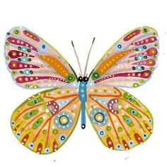 Colorful Butterfly Needlepoint Kit