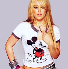 hilary duff #mickey
