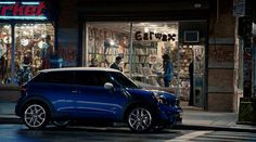 MINI Paceman makes a quick stop at the record store for some drivetime music inspiration.
