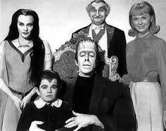 "The Munsters (1964-66), starred Fred Gwynne, Yvonne DeCarlo, Al Lewis as, ""Grandpa"" and Butch Patrick as, ""Eddie""."