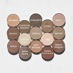 A few of my favorite neutral shadows for MAC Monday. Swipe for shade names. Thinking about the victims in Las Vegas today. Mac Eyeshadow Swatches, Mac Cosmetics Eyeshadow, Makeup Dupes, Makeup Geek, Makeup Tools, Beauty Makeup, Eye Makeup, Hair Makeup, Makeup Products