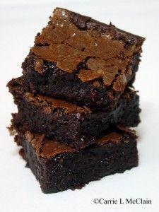 paleo/GF brownies... super healthy!