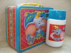 disney  vintage  lunchbox
