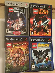 4 #playstation 2 ps2 lego #games star wars video game ii original #trilogy batman, View more on the LINK: http://www.zeppy.io/product/gb/2/322264910106/