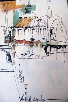 Urban Sketchers: sunday sketches 29 jan 2012