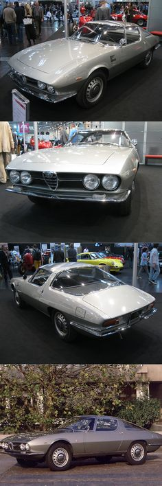1965 Alfa Romeo Giulia Speciale Bertone / Giugiaro / Italy / grey / 16-75