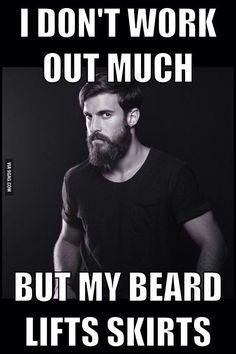 How men feel with beards.