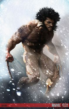 Awesome!!! Wolverine by Adnan Ali | Fan Art | 3D | CGSociety