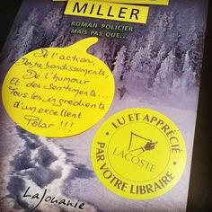 Lynwood Miller de Sandrine Roy. Editions Lajouanie Coup de cœur de Pépita librairie Maison Lacoste à Mont de Marsan @maison_lacoste  #polar #book #livre #lespetitsmotsdeslibraires