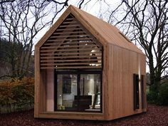 prefab micro-buildings from dwelle.co.uk