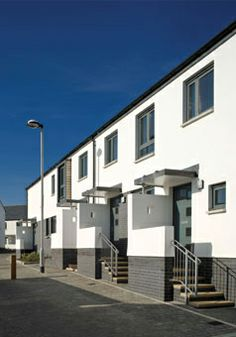 Housing Developments, Broadclose in Bude, Cornwall by Devon Architects Trewin Design Architects