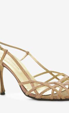 Dolce & Gabbana Pink And Gold Sandal | VAUNTE
