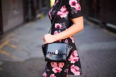 ff64dcf49c6 haute looks   fashion blog   floral dress   fall fashion   2014   ootd    little dress   seattle   blogger   style   details   studded purse